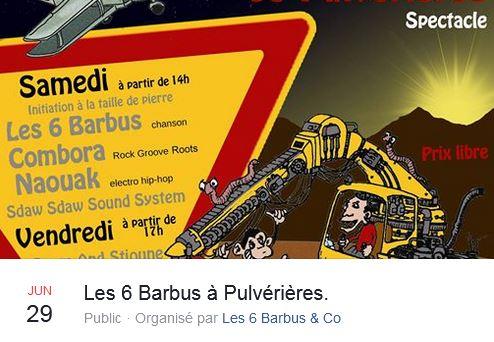 Image de Les 6 Barbus à Pulvérières