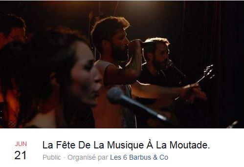 Image de Fête de la musique, La moutade